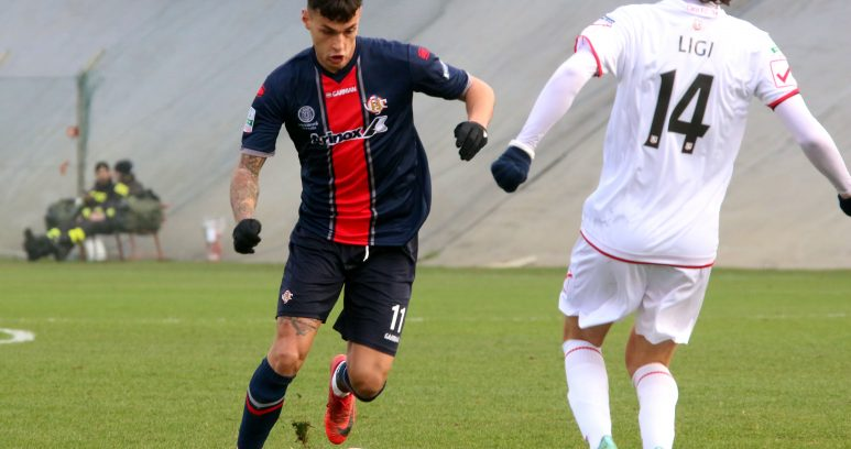 Scamacca in gol con l'Under 19